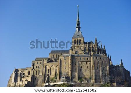 Le Mont-Saint-Michel - stock photo
