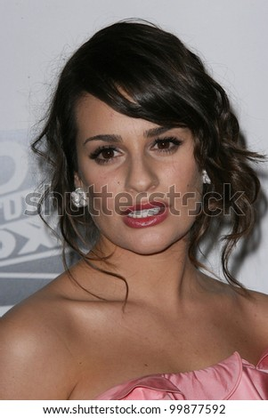 Lea Michele at the FOX Golden Globe After Party, Beverly Hilton, Beverly Hills, CA. 01-16-11