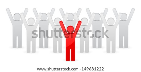 leader concept - stock photo