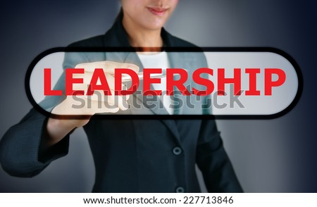 Leadership concept - stock photo