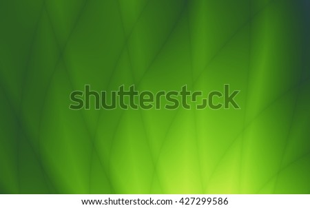 leaf abstract green magic background - stock photo