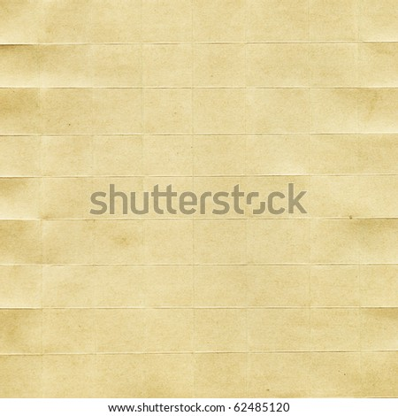 Leaf of the old, crumpled paper - stock photo