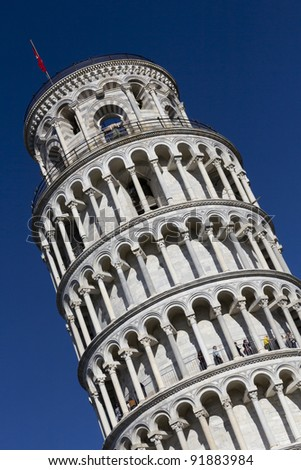 Leaning Tower. Pisa. Tuscany, Italy