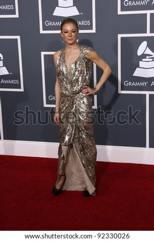 LeAnn Rimes at the 53rd Annual Grammy Awards, Staples Center, Los Angeles, CA. 02-13-11