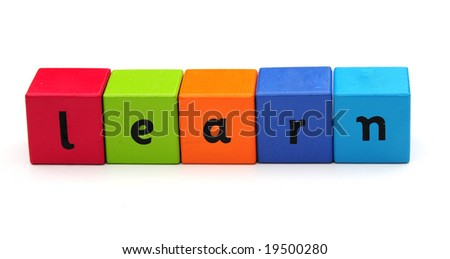 learn - stock photo