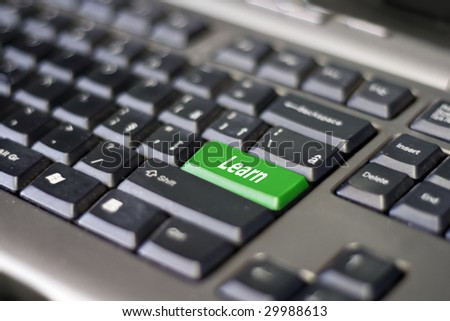 Learn button on keyboard