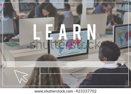 Learn E-Learning Study Education Knowledge Concept