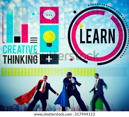 Learn Education Knowledge Ideas Creative Concept - stock photo
