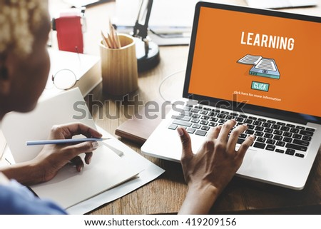 Learning Education Improvement Insight Study Concept - stock photo