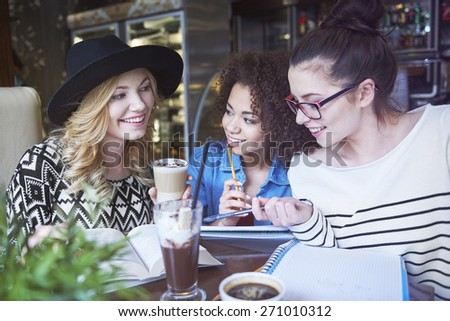 Learning together brings better results - stock photo