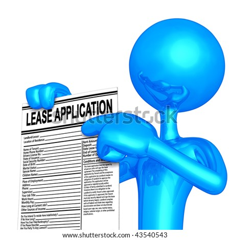 Lease Application Concept
