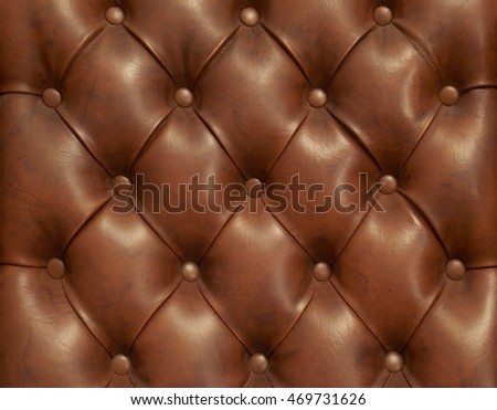 Leather Chair material