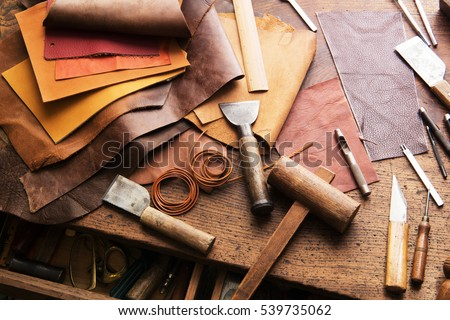 Leathercraft stock images royalty free images vectors for Leather sheets for crafting