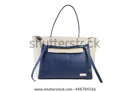 leather female bag on a white background Online Shop