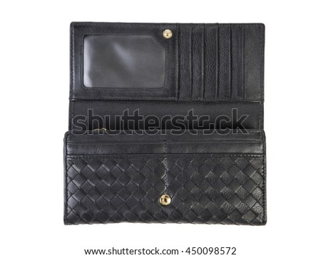 leather female purse on a white background Online Shop