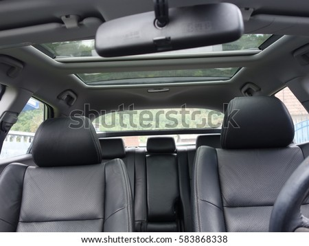 leather interior design car passenger driver stock photo edit now 583868338 shutterstock. Black Bedroom Furniture Sets. Home Design Ideas