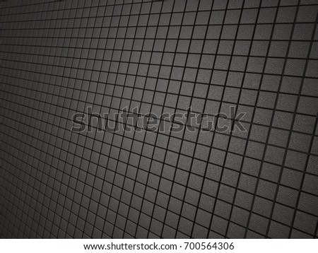 Leather mosaic