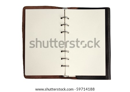 Leather note book