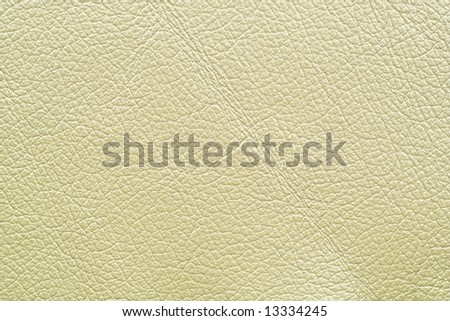 Leather of white color - stock photo