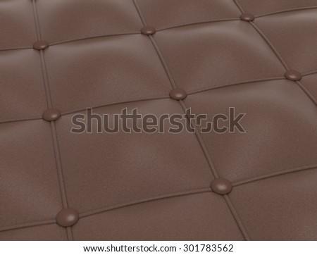 Leather pattern - stock photo