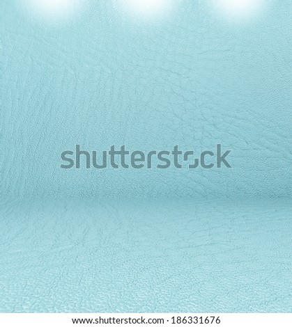 leather room Background - stock photo
