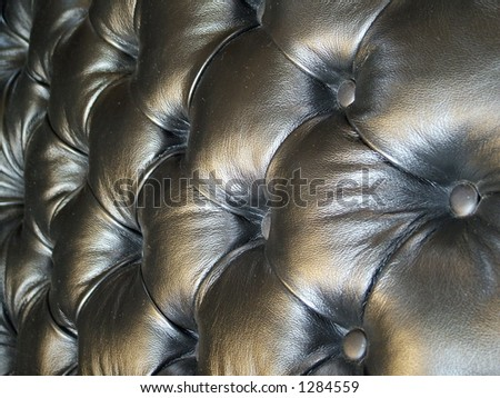 Leather Seat - stock photo