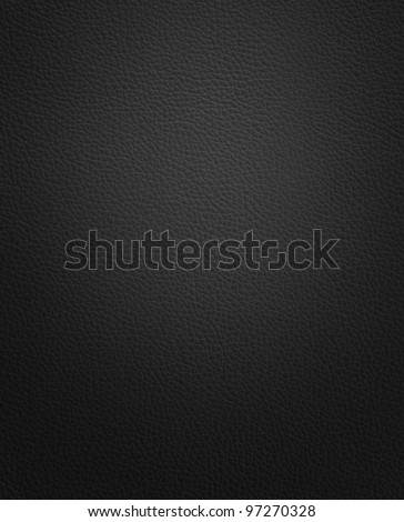 leather texture black - stock photo