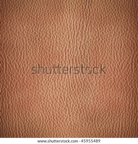 leather texture. Closeup of skin surface, crumple pattern - stock photo