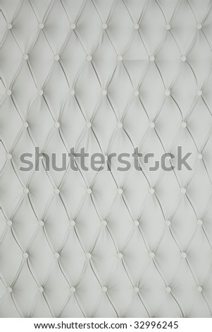 leather upholstery - stock photo