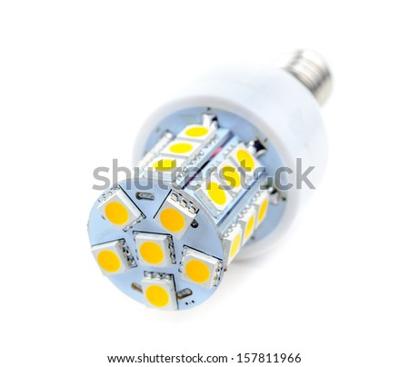 LED lamp low power.