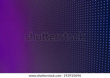 LED screen  - stock photo