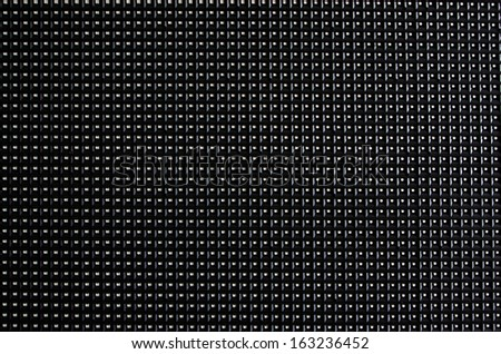 LED screen panel texture - stock photo
