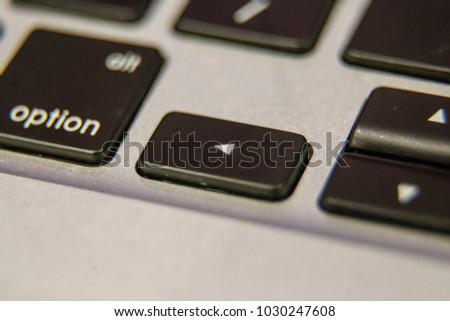 Left Arrow Symbol Keyboard Key Button Stock Photo Royalty Free