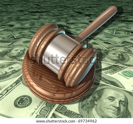 legal costs lawyer fees expensive court opinion services prices - stock photo