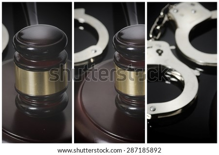 Legal law concept image - stock photo