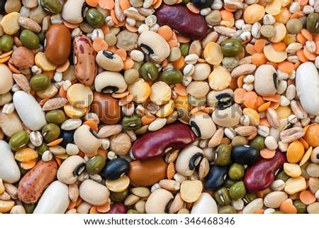 Legumes  - stock photo