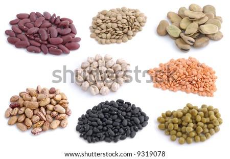 Legumes raw - stock photo