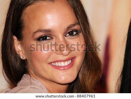 Leighton Meester at the Vera Wang - Lovestruck Perfume Launch at Harrods, London. 09 June, 2011 London, United Kingdom Picture: Gerry Copper / Featureflash