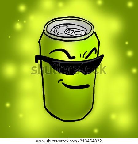 Lemon can - stock photo