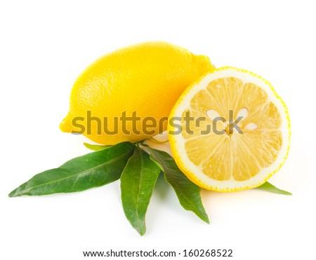 Lemon fruit - stock photo