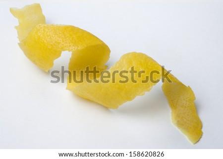 lemon twist - stock photo