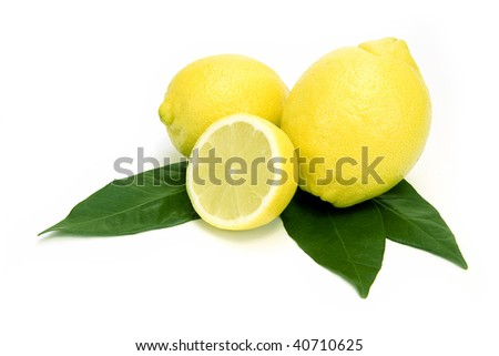 Lemons fruit - stock photo