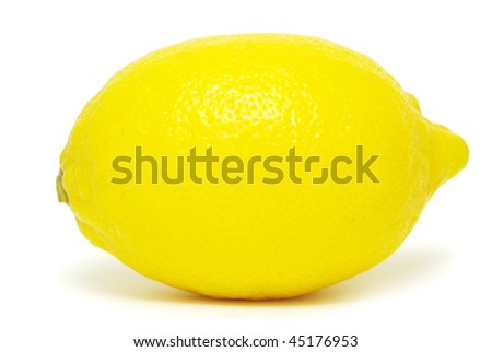 lemons isolated on a white