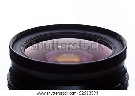 lens camera - stock photo