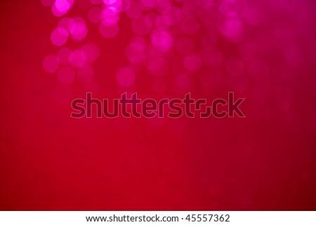 Lense flare bokeh red defocused - stock photo