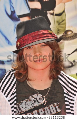 "Leo Howard at the Los Angeles premiere of ""Shorts"" at Grauman's Chinese Theatre, Hollywood. August 15, 2009  Los Angeles, CA Picture: Paul Smith / Featureflash"