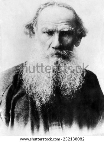 Leo Tolstoy (1828-1910), Russian writer, circa early 1900s.