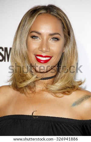 Leona Lewis at the Cosmopolitan's 50th Birthday Celebration held at the Ysabel in West Hollywood, USA on October 12, 2015.