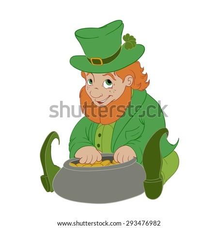 Leprechaun - stock photo