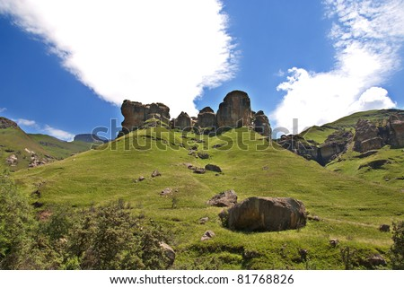 Lesotho mountains stock images royalty free images vectors lesotho officially the kingdom of lesotho is a landlocked country and enclave surrounded sciox Images